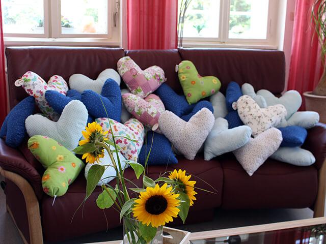 herzen f r die palliativstation volksbank eg delmenhorst schierbrok. Black Bedroom Furniture Sets. Home Design Ideas